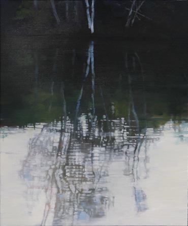 Birch Pond by Kent Lovelace
